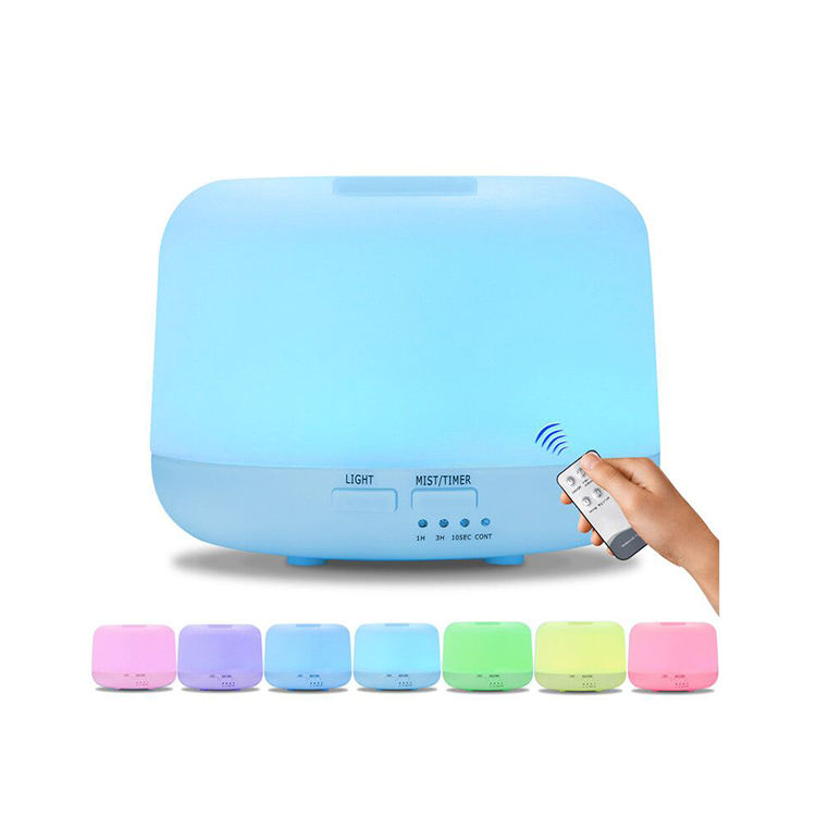 7 Warna Berubah LED Light Aromaterapi Minyak Esensial Diffuser 300 Ml Air Ultrasonic Humidifier