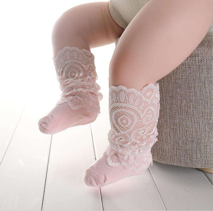 baby knee high bulk wholesale socks girls baby organic transparent fun cozy baby girl socks cool