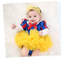 Children tutu dress baby first birthday dress tutu Children's Wear Festival Snow White Dress Classical ballet tutu