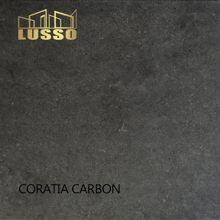 LUSSO ceramic royal 600x600mm carbon color firebrick rustic porcelain tile for house