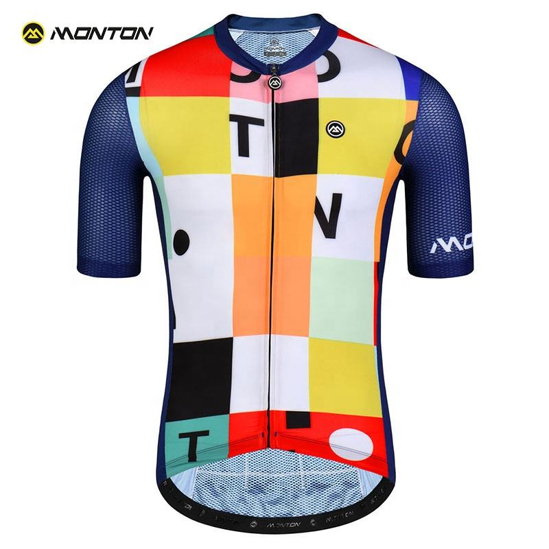 OEM Manufacturer Men Clothing Custom Cycling Jersey