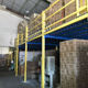 Q235B Cold Steel Metal Plate Warehouse Storage materials Galvaniced Mezzanine Floor System
