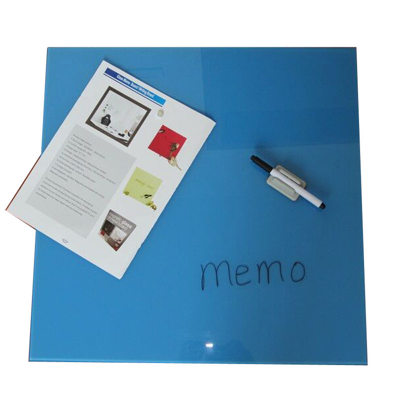 Easy Writing and Erase Magnetic Glass Notice White Board