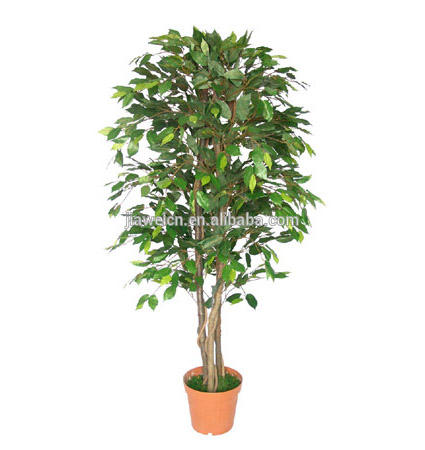 Export quality artificial benjamin tree,ficus tree wholesale