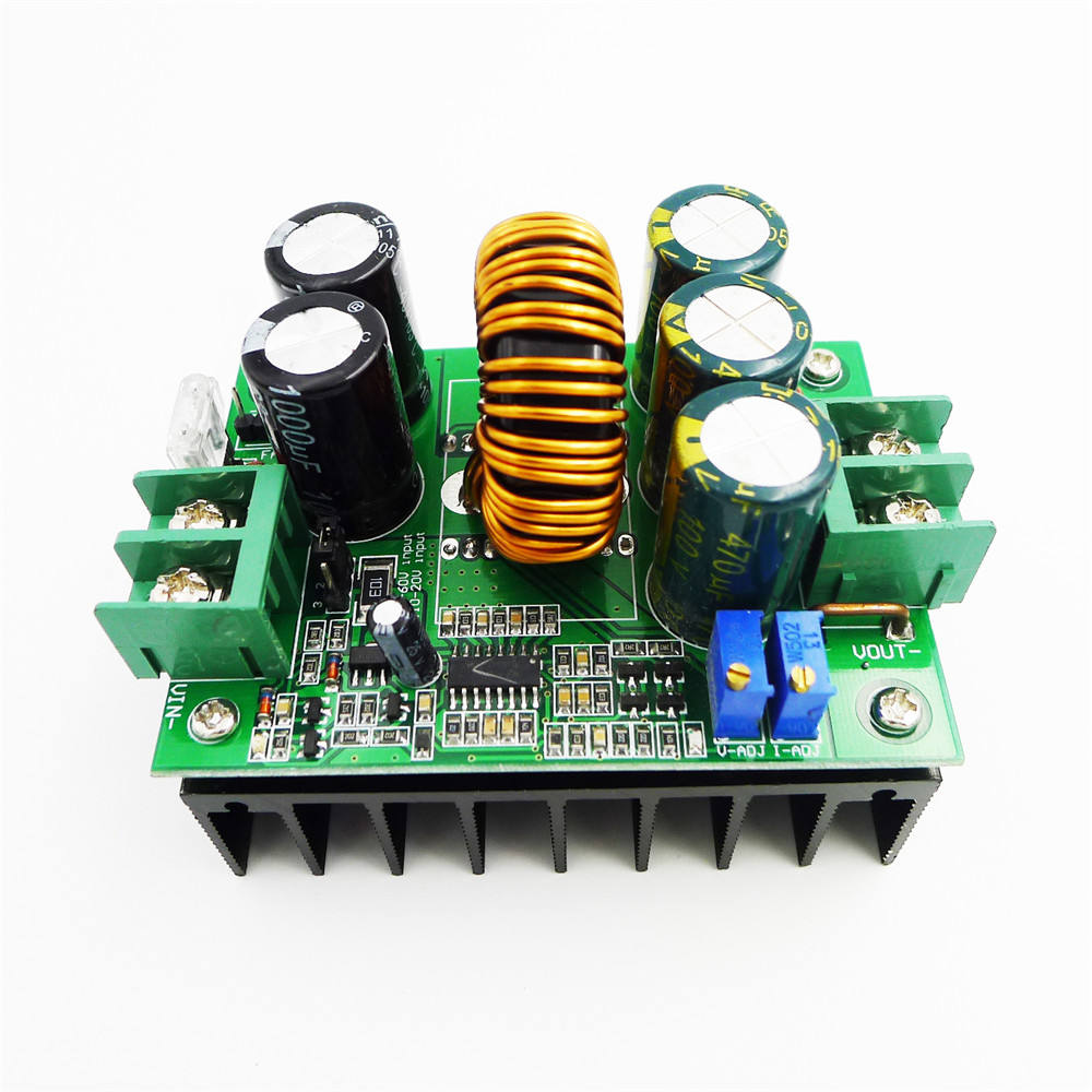 1200W 20A DC DC Boost step up Converter power supply module 8-60V to 12-80V 20A car solar battery charger