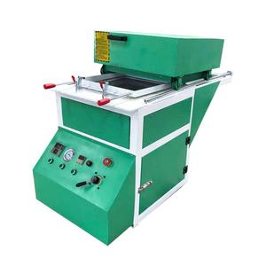 Small size mini plastic vacuum forming thermoforming machine for container mold