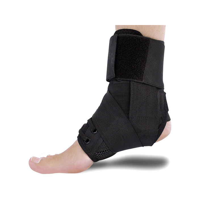 Amazon hot Adjustable Ankle Stabilizer Sports medical Ankle Brace Support