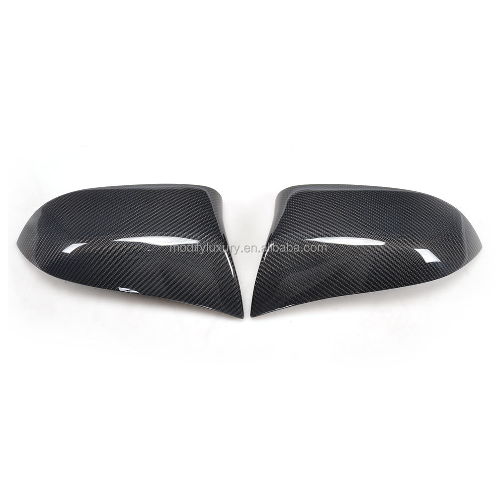Carbon Fiber Rear Outer Mirror Cap for BMW x Drive Series X4 F26 2014-2016