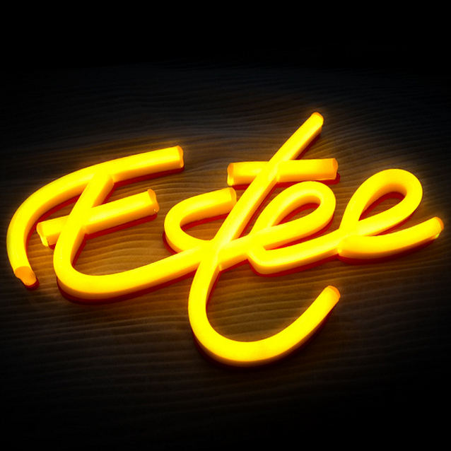 neon custom metal light sign shop name sign factory design led acrylic light channel letters