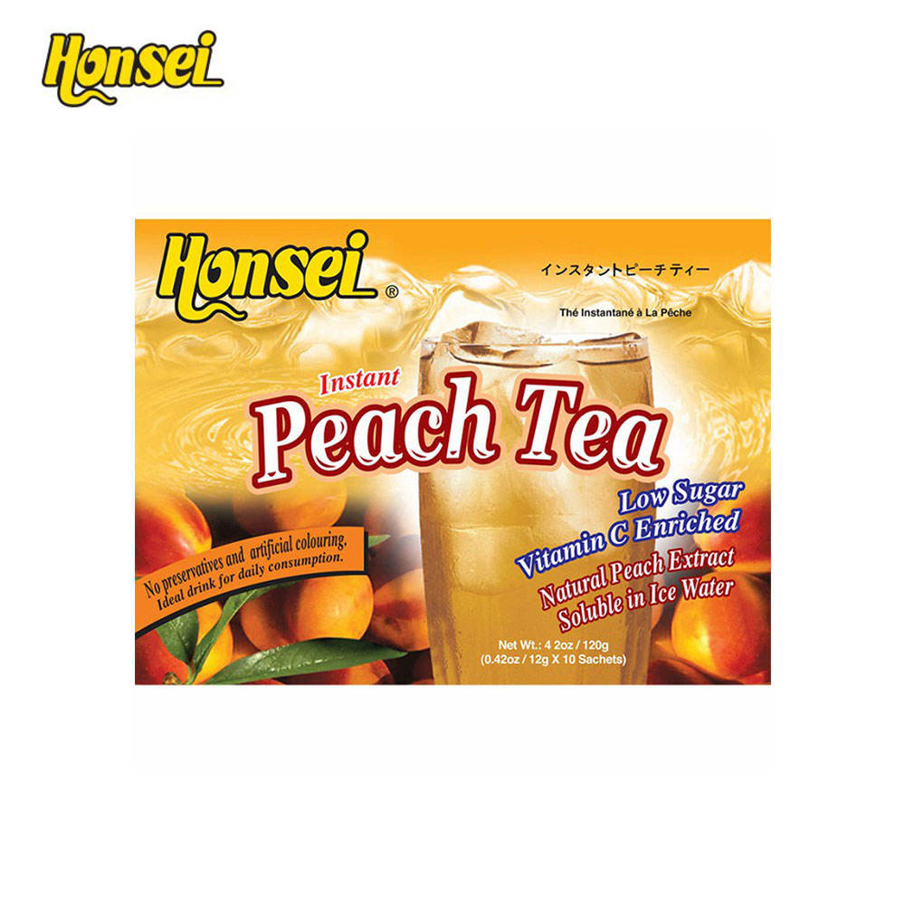 Blended Honsei Peach Fruit Tea with Good Quality
