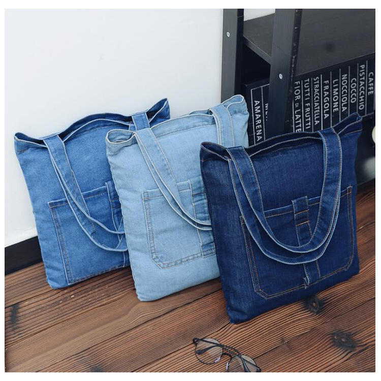 Fashion Classic Girls Jeans Handbags Wholesale