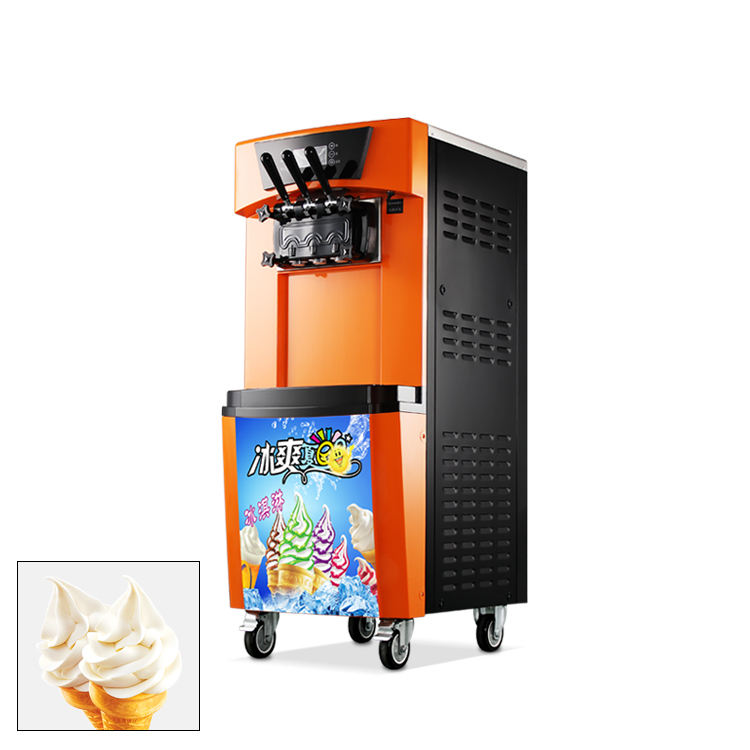 commercial portable ice cream machine china factory direct sale soft ice cream machine