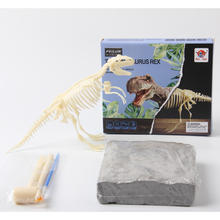 STEM education dig dinosaur fossil toys bones archaeological toy for kids