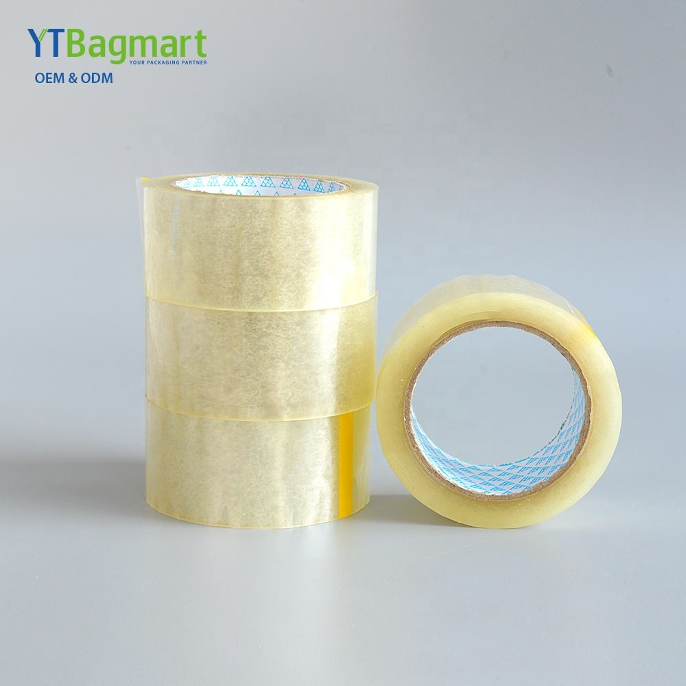 Wholesale Manufacturing Strong Stickiness Adhesive Packaging Transparent Tape