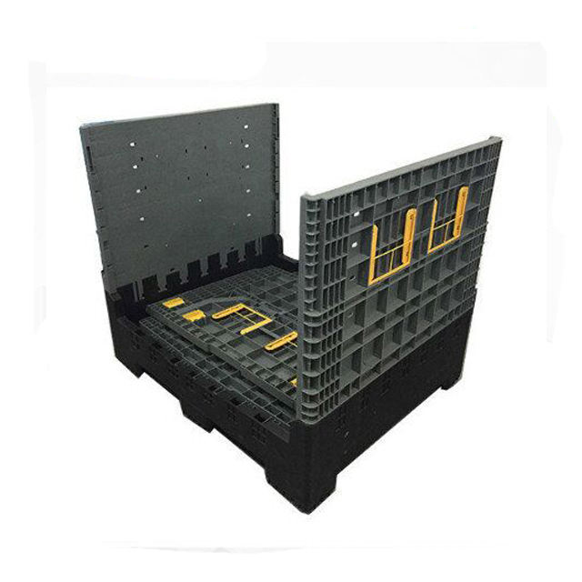 1200*1000*1000mm Plastic Foldable Pallet Box Large Storage Container