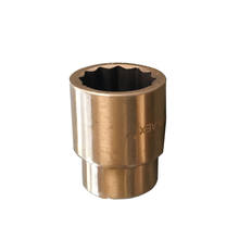 "China supplier OEM manufacturer non sparking beryllium copper 1/2"" socket"