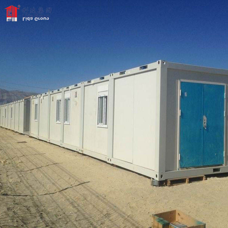 Army container house in afghanistan, army barrack prefabricated house