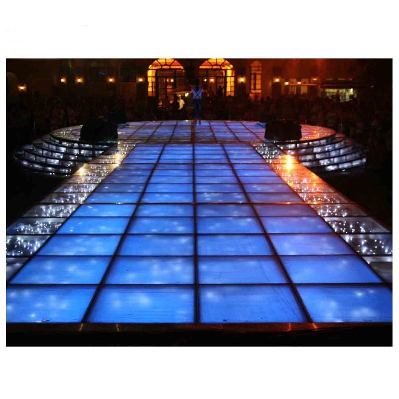 Outdoor Concert Mobile Scene Aluminum Glass Performance Stage