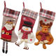 Wholesale Personalised Decorative Christmas Stocking Popular Wholesale Festival Items Tree and House Decoration