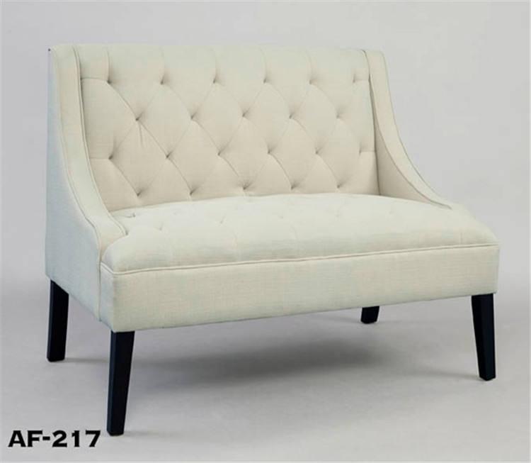 Новый дизайн ОК белая мягкая ткань один диван