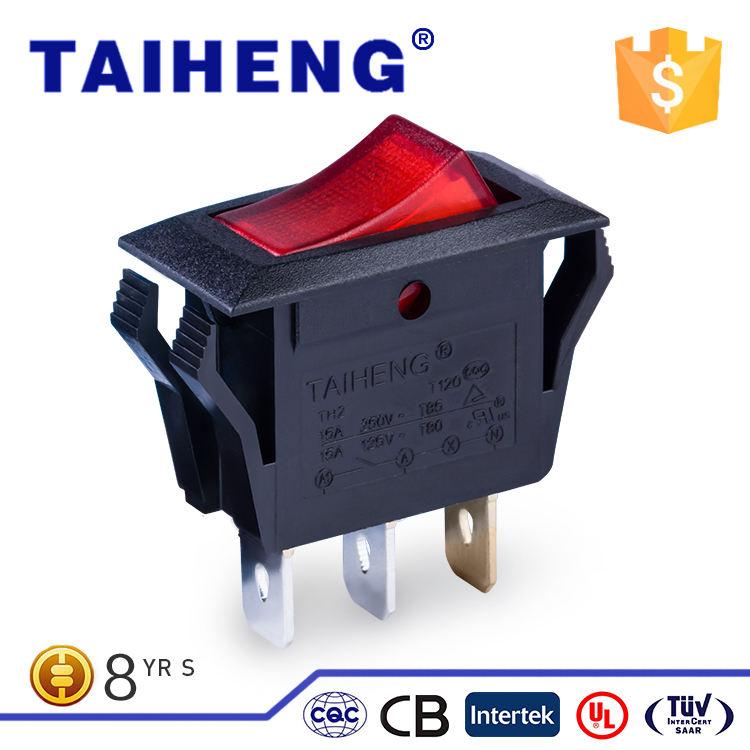Chất lượng <span class=keywords><strong>tuyệt</strong></span> <span class=keywords><strong>vời</strong></span> SPDT 2 vị trí 15A 250VAC electrica rocker switch với OEM ODM