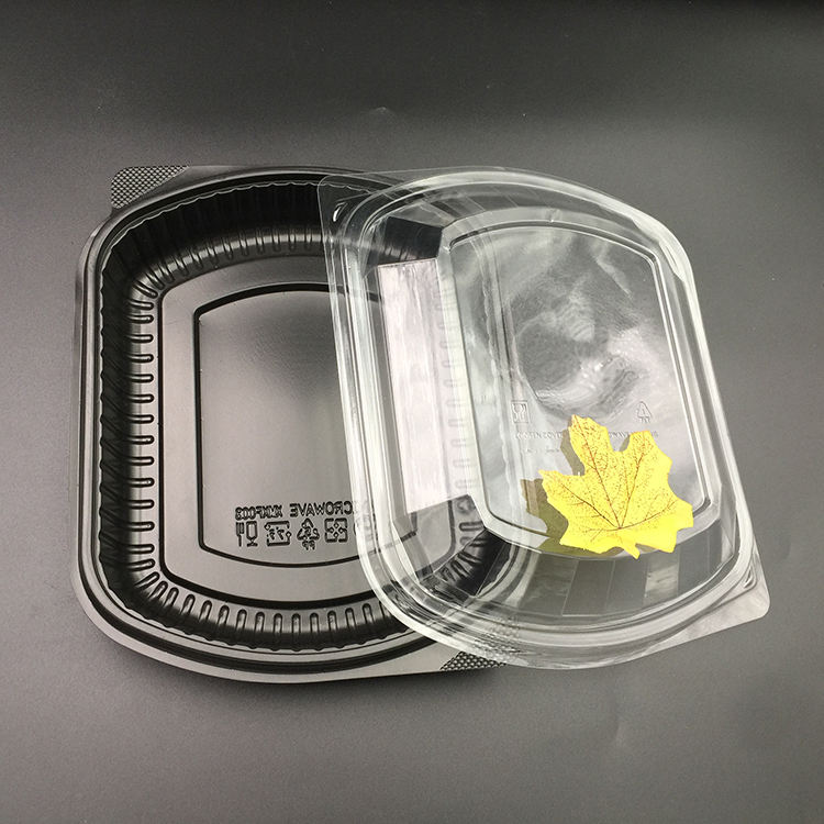 Custom Disposable Plastic Box Food Containers