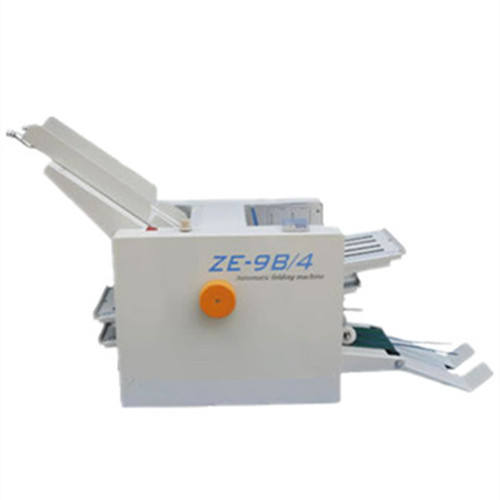 high speed 2/4 folding tray manual paper folder machine for instruction/brochure/paper folding