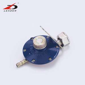 Common natural propane gas cylinder low pressure lpg gas regulator with meter