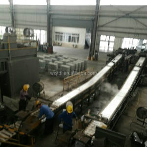 Big Capacity Electric Induction Zinc Melting Furnace Zinc Ingot Continuous Casting Machine