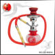 Popular Red Mini Hookahs 28cm Small Hookahs Portable Hookah Shisha Pipe