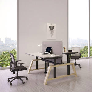 Office furniture from china Electric Height Adjustable Office Computer Desk With Anti-Collision Office Desk