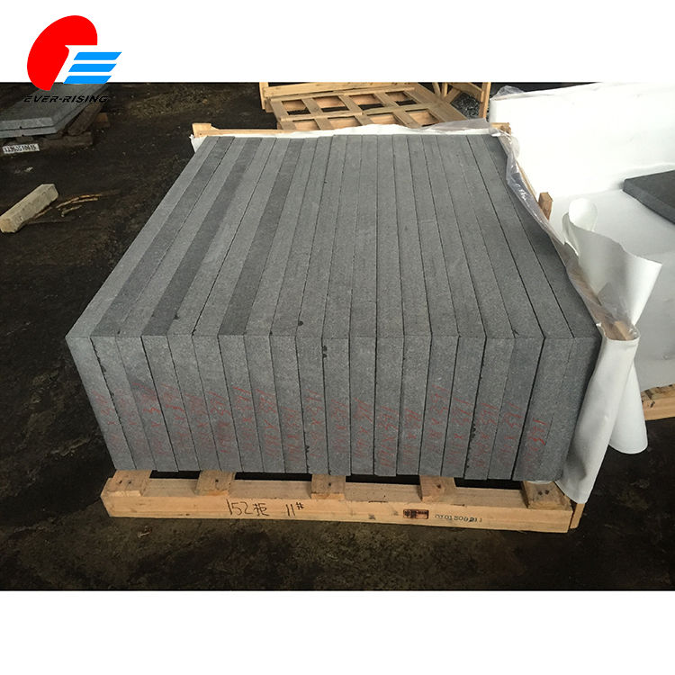 Wholesale Garden Dark Grey Granite Parking Curbstone