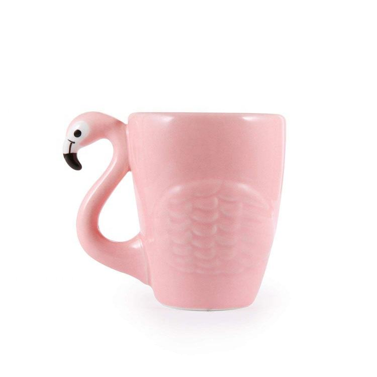 <span class=keywords><strong>3D</strong></span> Mignon <span class=keywords><strong>En</strong></span> <span class=keywords><strong>Céramique</strong></span> Café Flamant Tasse Rose