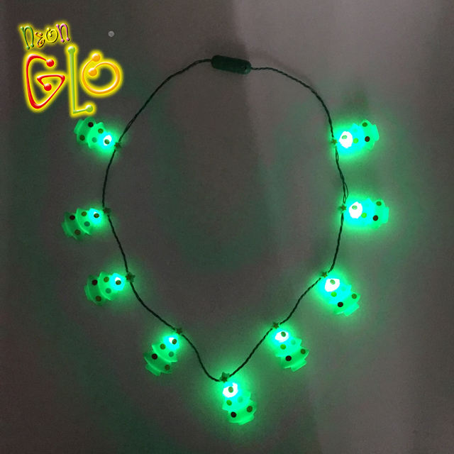 Christmas Tree LED Lighted Necklace for Party