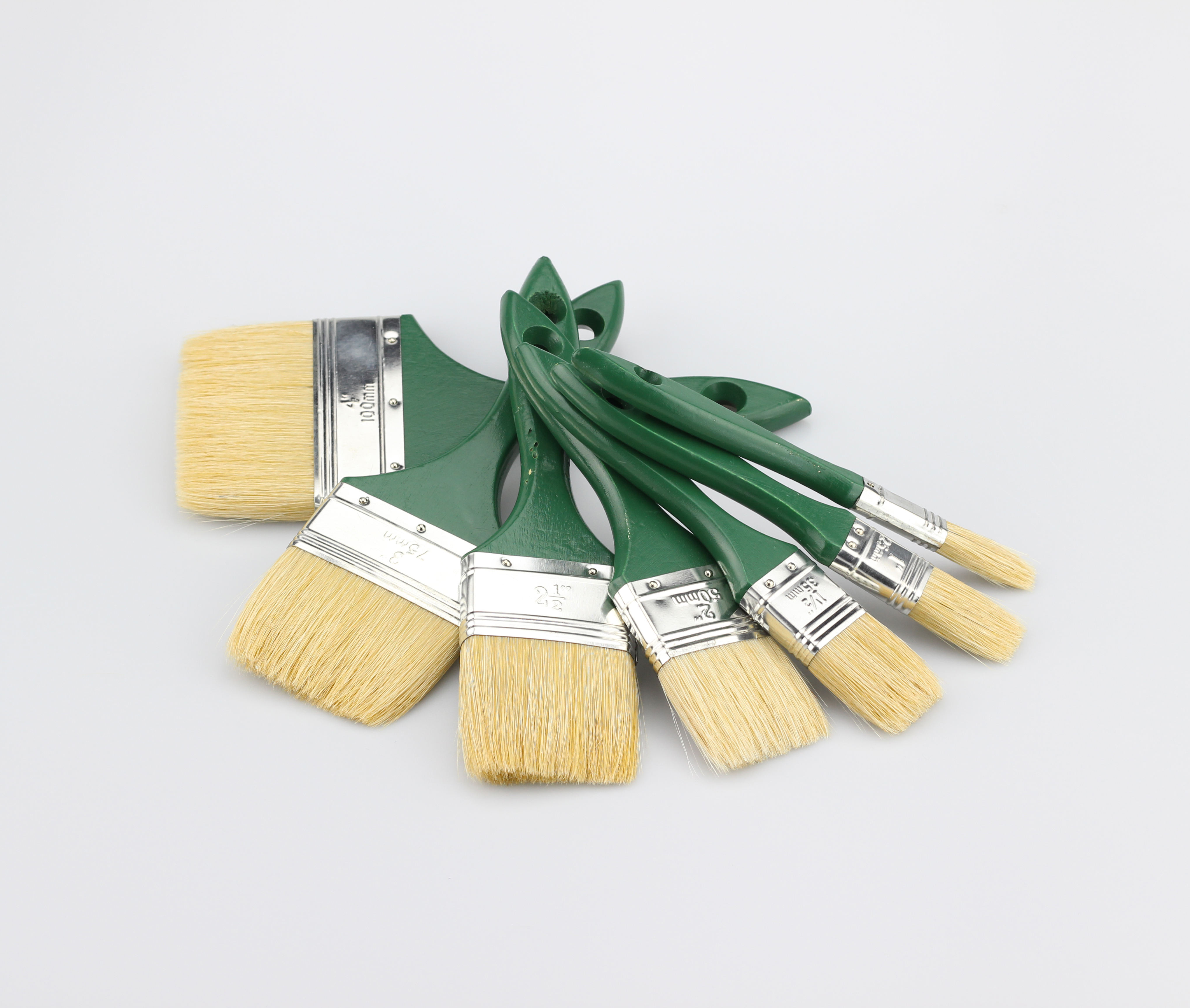 Wholesale Chinese Wall Paint Brushes Wooden Handle Pure Bristle Painting Brush