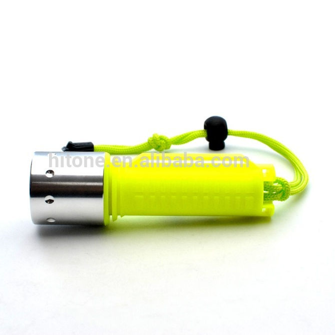 886 Lumens Mini Diving Flashlight Led, Poewrful Dive Torch Led Waterproof Flashlight Underwater