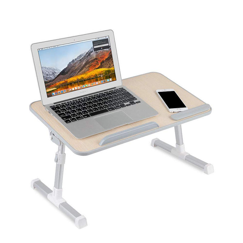2019 Ergonomis Flexible Aluminium Portable Laptop Stand Adjustable Bed Tray Tabel