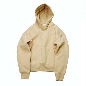 Fleece Men Casual Plain Dyed Custom Oversized Thick Hoodie/ Design Your Own Sweatwear Hoodie