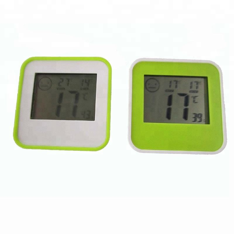 DC205 Digital LCD Thermometer Hygrometer Humidity Temperature Meter Indoor Centigrade/Fahrenheit with Comfort Level Icon