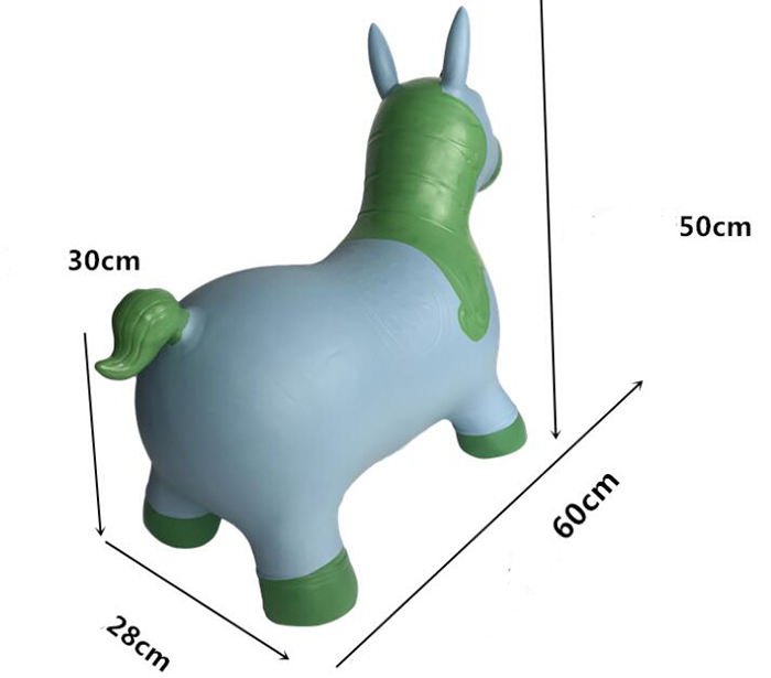 Best Quality PVC Custom Inflatable Jumps Toy Animals For Kids