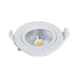 Luz de techo IP65 de aluminio de fundición TUV 10 w cob residencial led spotlight para cuarto de baño led downlight