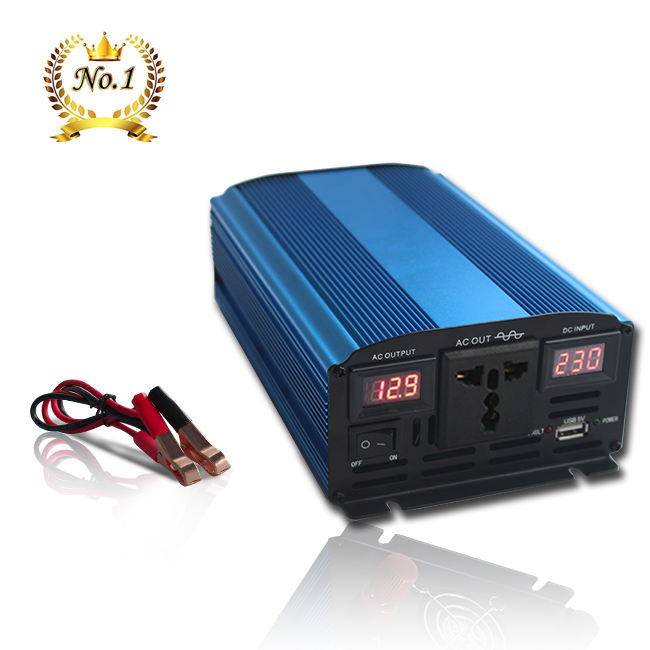 12 v 24 v dc zu ac 110 v 220 v 300 w 600 w 1000 w 1500 w 2000 w 3000 w Mit Soft Start Reine Sinus Power Inverter
