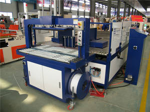 Automatic Corrugated Cardboard Packing Strapping Machine Price