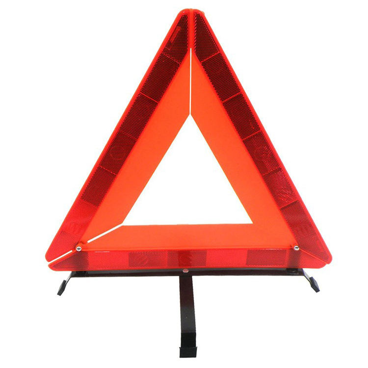 E-Mark Heavy Duty Collabsible Emergency Breakdown Warning Triangle with Case