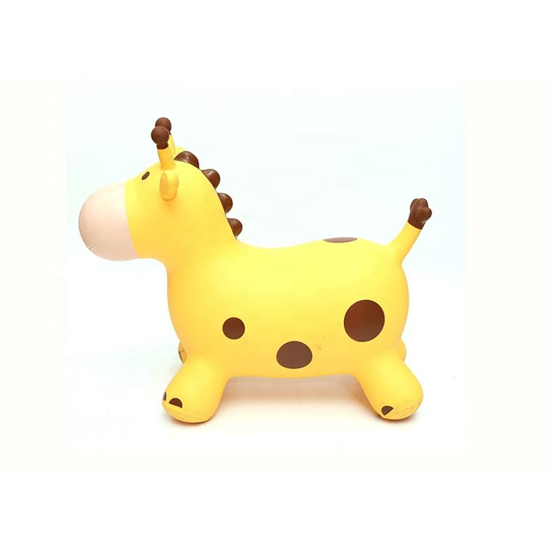 giraffe PVC Inflatable Animal Toys For Kids