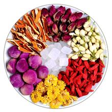 Mix Bulk supply rose flowers buds blended fruits tea OEM support