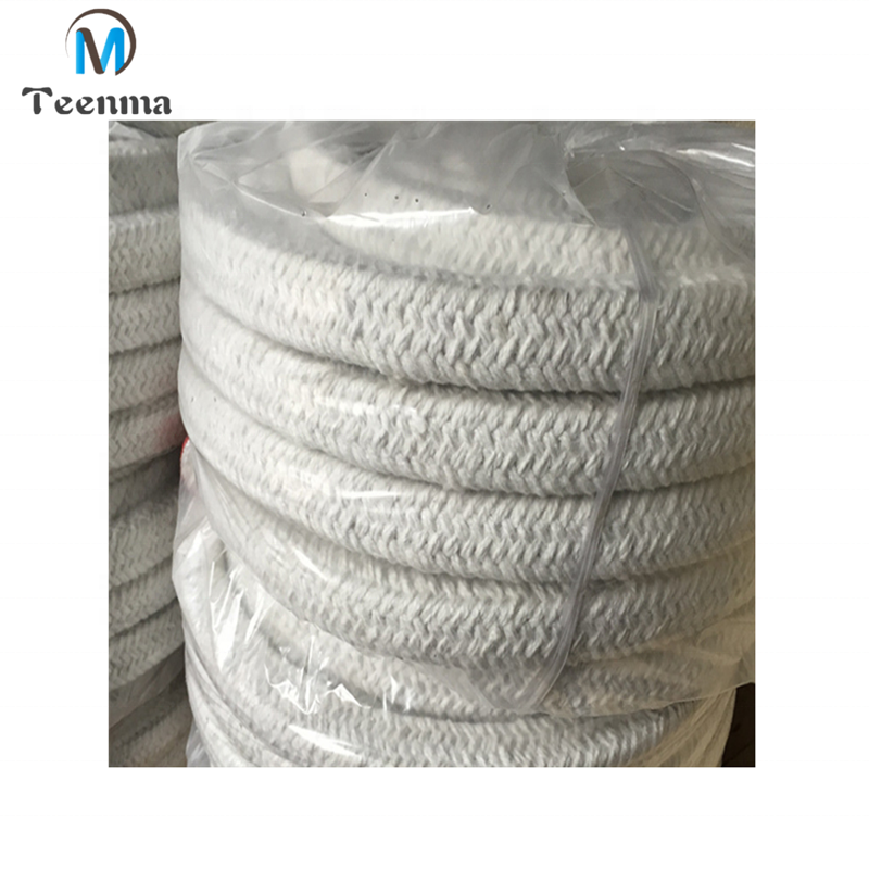 High Temperature Resistant Flexible Round Ceramic Fiber Rope