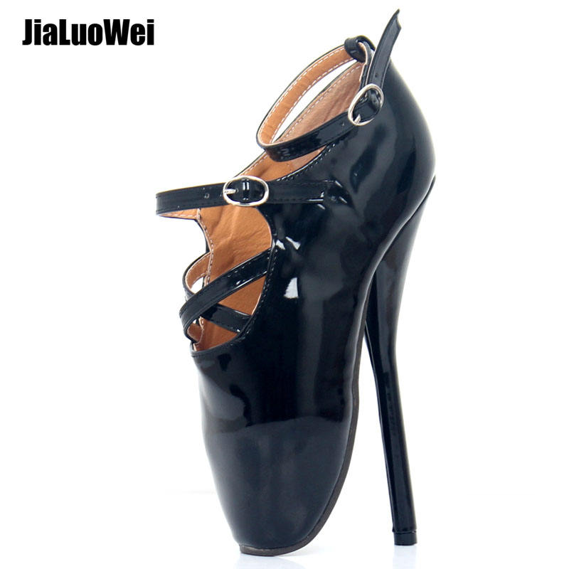 Jialuowei Pointed-toe Buckle Straps Sexy Women 7