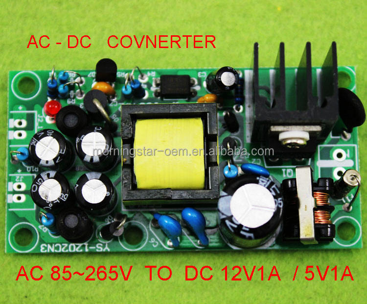 KSTE Step down Power Supply DC-DC Converter Module,Adapter Switching Power Supply,24V to 12V High Efficiency Power Supply Buck Module 5A