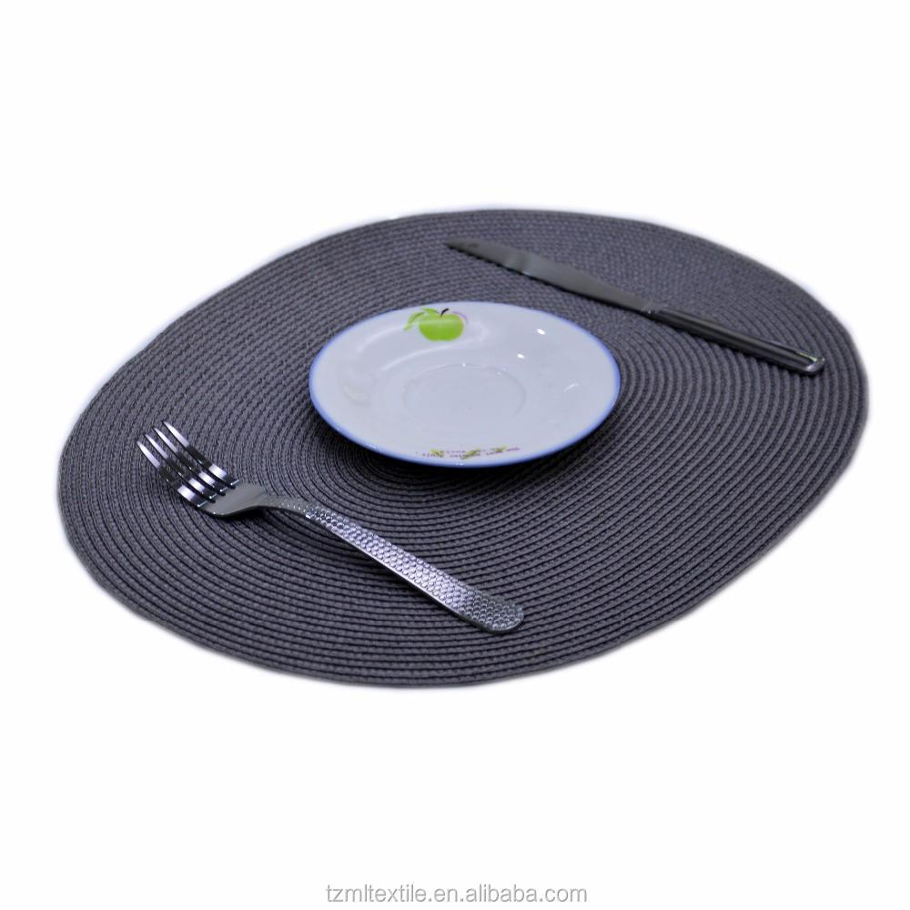 Papier platte ort matte für tisch schutz, papier matte, tisch matte